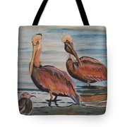 Pelican Party Tote Bag