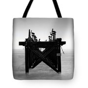 Pelican Pier - Pass Christian - Mississippi Tote Bag