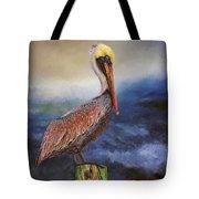 Pelican Seas Tote Bag