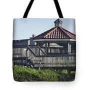 Pelican Weathervane Ocean Isle Norht Carolina Tote Bag