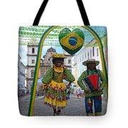 Pelourinho - Historic Center Of Salvador Bahia Tote Bag