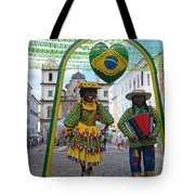 Pelourinho - Historic Center Of Salvador Bahia Tote Bag