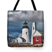Pemaquid Point Lighthouse 4821 Tote Bag