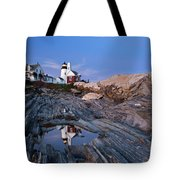 Pemaquid Point Lighthouse - D002139 Tote Bag
