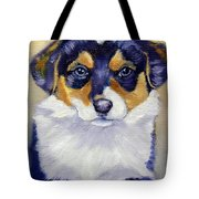 Pembroke Welsh Corgi Pup Tote Bag
