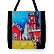 Pena Palace In Portugal Tote Bag