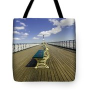 Penarth Pier 9 Tote Bag