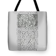 Pencil  Drawing Digital Image   Tote Bag