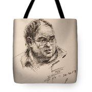 Sketch Man 8 Tote Bag