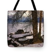 Pend D'oreille Lake 3 Tote Bag