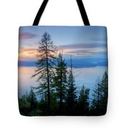 Pend Oreille Sunset Tote Bag