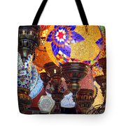Pendants Bazaar Tote Bag
