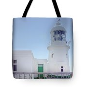 Pendeen Lighthouse Cornwall Tote Bag