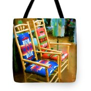 Pendleton Chairs Tote Bag