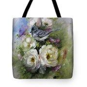 Penelope's Flycatcher Tote Bag