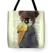 Penguin Ice Cream Tote Bag