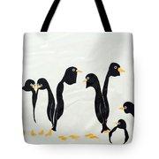Penguins  -2 Tote Bag
