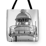 Peniscola Lighthouse Of Spain Tote Bag