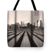 Penn Geometry Tote Bag by Joanna Madloch