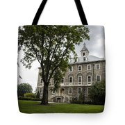 Penn State Old Main From Side  Tote Bag