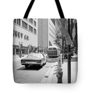 Penney's And Donaldsons 1971 Tote Bag by Mike Evangelist