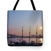 Penns Landing Sunrise Tote Bag