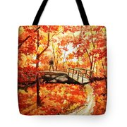 Pennsylvania Autumn Tote Bag