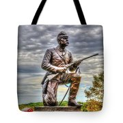 Pennsylvania Cavalry - Culps Hill Tote Bag