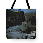 Pennsylvania Station Excavation Tote Bag
