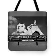 Penny Dog Food Sign Photoart Tote Bag
