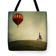 Penny Farthing For Your Thoughts Tote Bag