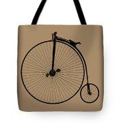 Penny Farthing Sepia Tote Bag