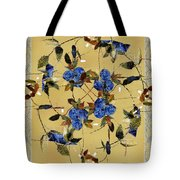 Penny Postcard Silk-stitched Tote Bag