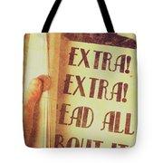 Penny Press Journal Tote Bag