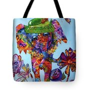 Penny Steps Out Tote Bag