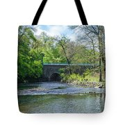 Pennypack Creek Bridge Built 1697 Tote Bag
