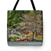 Pennyrile Park Canoes Tote Bag