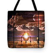 Penquin Magic Tote Bag by Bob Orsillo