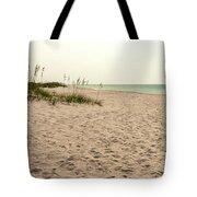 Pensacola Beach 2 Panorama - Pensacola Florida Tote Bag