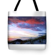 Pensacola Sunset After The Storm Tote Bag