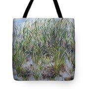 Pensive Grasses Tote Bag