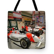 Penske Racing Indy 500 Hall Of Fame Museum Tote Bag