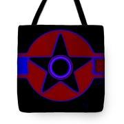 Pentagram In Red Tote Bag