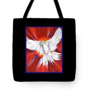 Pentecost Dove Tote Bag