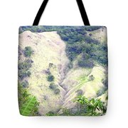 Penuelas, Puerto Rico Mountains Tote Bag