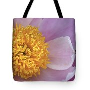 Peonie Yellow Center Tote Bag