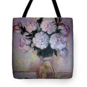 Peonies And Rings Tote Bag
