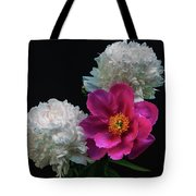 Peonies - Beautiful Flowers - On The Right Is One Of The First Places Among The Garden Perennials Tote Bag