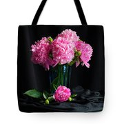 Peonies - Beauty The Brave Tote Bag