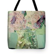 Peonies Bouquet Tote Bag